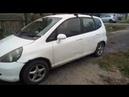 Honda Fit 2002, правда из Москвы от подписчика, пробег 537тыс