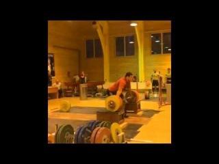 Lovchev Aleksey Snatch 220 kg Ловчев Алексей рывок с плинтов 220 кг