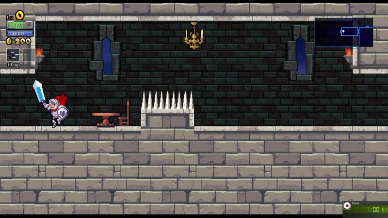Rogue Legacy - Speed Run, 28:27 (old, v1.0.11)
