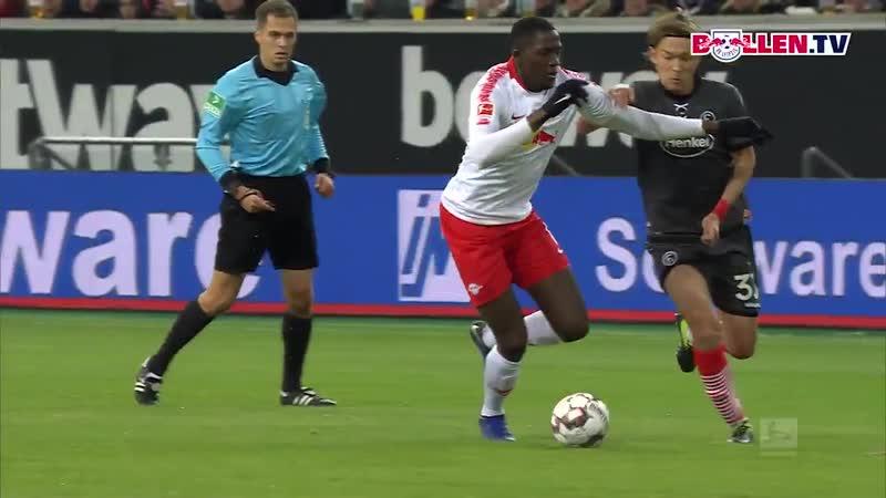 Unser Innenverteidiger Ibrahima Konaté zeigte sich gegen @f95 in absoluter 1️0️er-Manier! - - DieRotenBullen @Bundesliga_DE IK6
