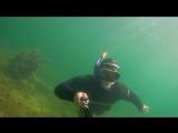 Фридайвинг на озере Тургояк