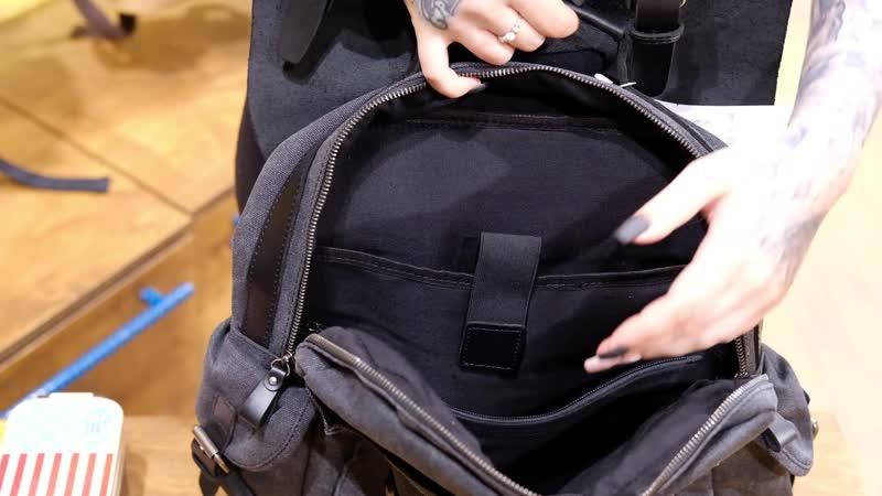 Обзор рюкзака для учебы Гонконг Ginger Bird