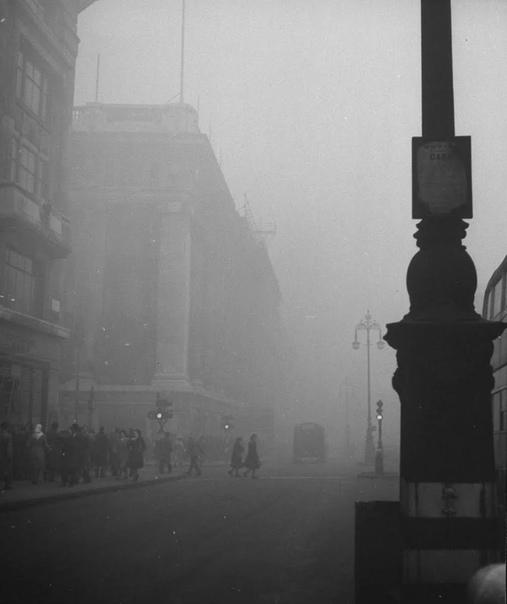 Мистика туманного Лондона. 1946г.
