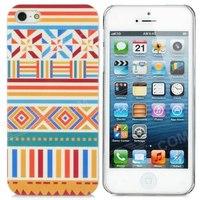 Cool 3D Череп Стиль Защитный декоративный Back Cover Чехол для iPhone 5 - Золотой.