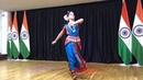 Индийский классический танец Одисси под русскую песню Богатырь