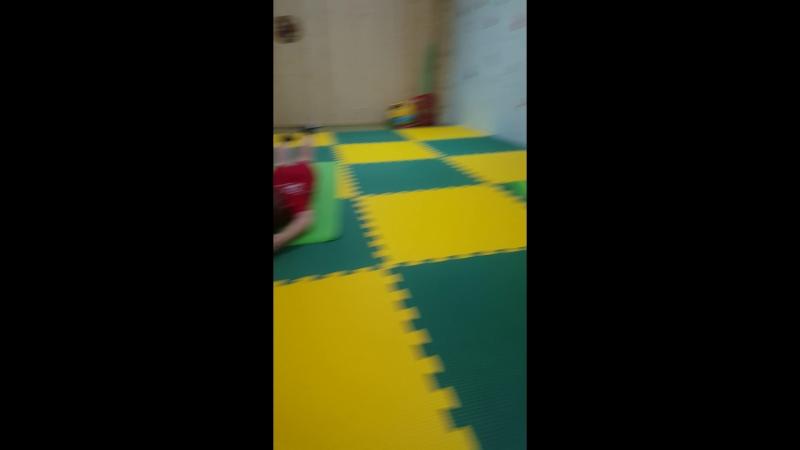 Оздоровительная гимнастика 7-8лет лодочка