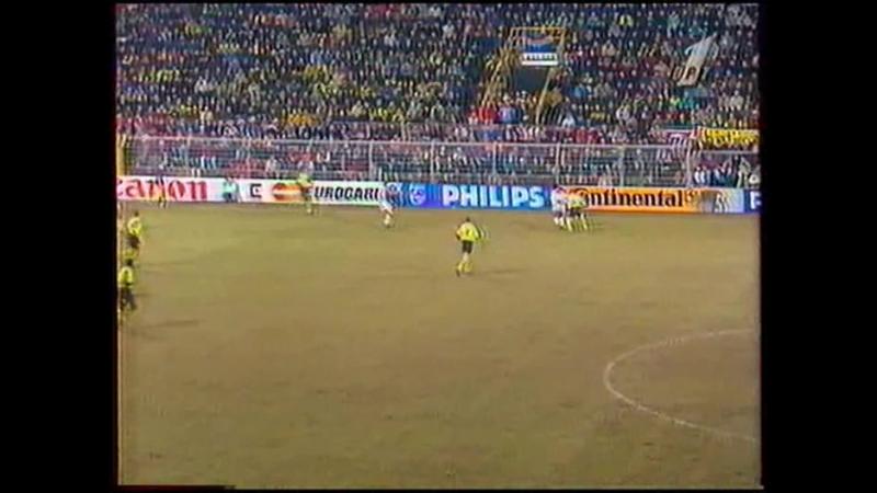 Лига чемпионов 1995 1996 1 4 финала Боруссия Аякс