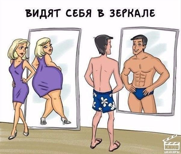 Разница между мужчиной и женщиной ????
