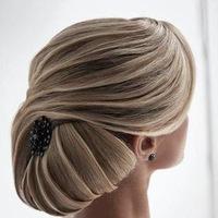 Картинки прически на свадьбу на средние волосы - 541