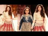 Uncut Full Show: Jacqueline Fernandez walks for Anju Modi At LFW 2014 Fall Winter Day 2