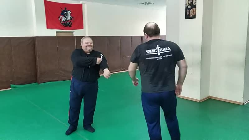 Лебединое озеро (2).2019 01 12. Systema Ryabko Moscow HQ Morning training 4