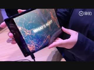 FlexPai представлен первый в мире гибкий смартфон