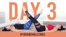 100 двойных подъемов ног - Испытание пресса. Day 3: 100 Double Leg Lifts!   100AbChallenge w/ my sister!