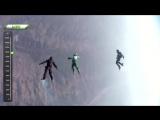 Люк Эйкинс - прыжок без парашюта