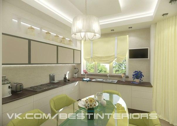 Кухня в загородном доме (3 фото) - картинка