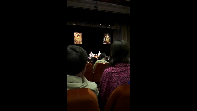 Лекция Ламы Оле Нидала