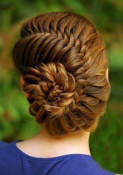 Красивые причёски для девочек 10 лет на длинные волосы - 5f1