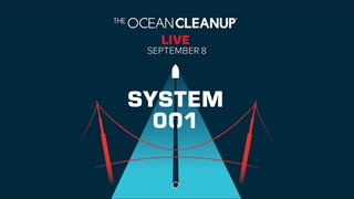 The Ocean Cleanup System 001 Launch LIVE