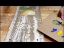 Уроки рисования акрилом поэтапно Стиль прованс своими руками Дачный стиль