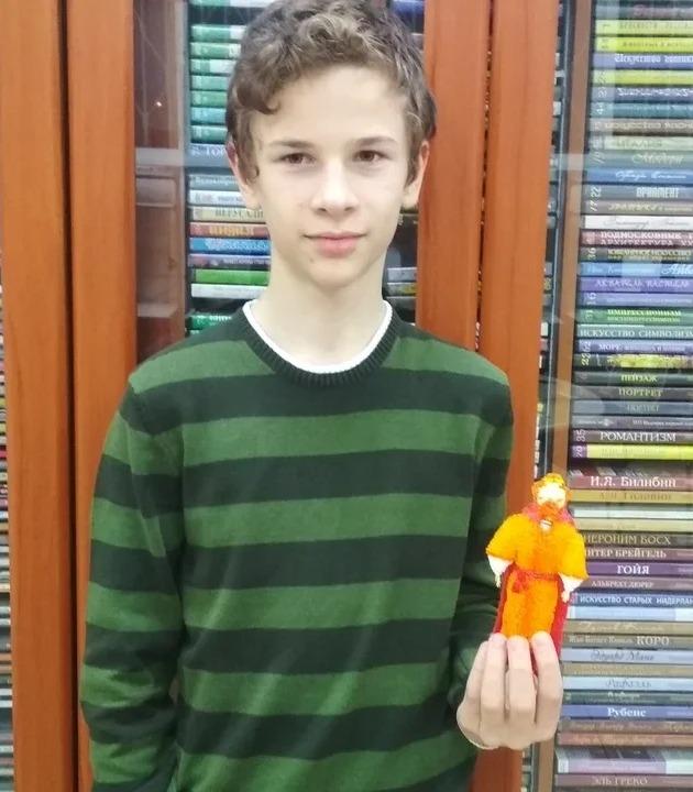Киевский князь 3D ручкой. Поделки с занятий