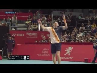Шаповалов - Чон Хот Шот (Betting good tennis)