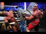 WWE Wrestlemania 29 Triple H VS Brock Lesnar No Holds Barred Match HHH Career Is On The Line 4/7/13