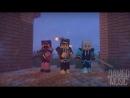 [v- АПОКАЛИПСИС - Рэп Майнкрафт ZOMBIE APOCALYPSE Minecraft The Weekend Parody