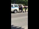 Поножовщина в Чесменской церкви Санкт-Петербурга,полиция скрутила дебошира