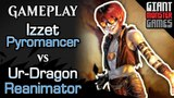 Budget Izzet Pyromancer -vs- Ur-Dragon Reanimator - MTGO Gameplay #02