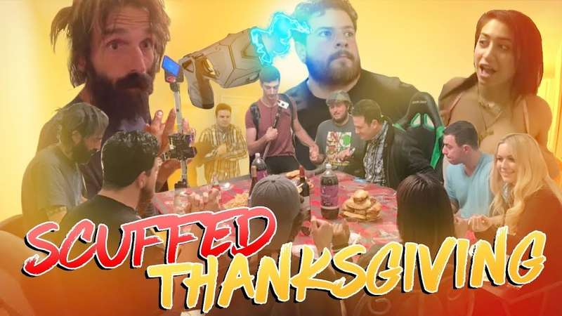 Homeless Man Gets Tased at my Thanksgiving Party!