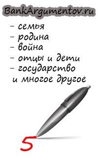 Егэ по русскому сочинение аргументы
