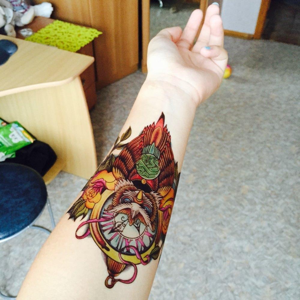 Временная татуировка 036