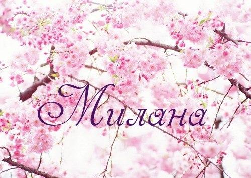 Картинки с именем милена