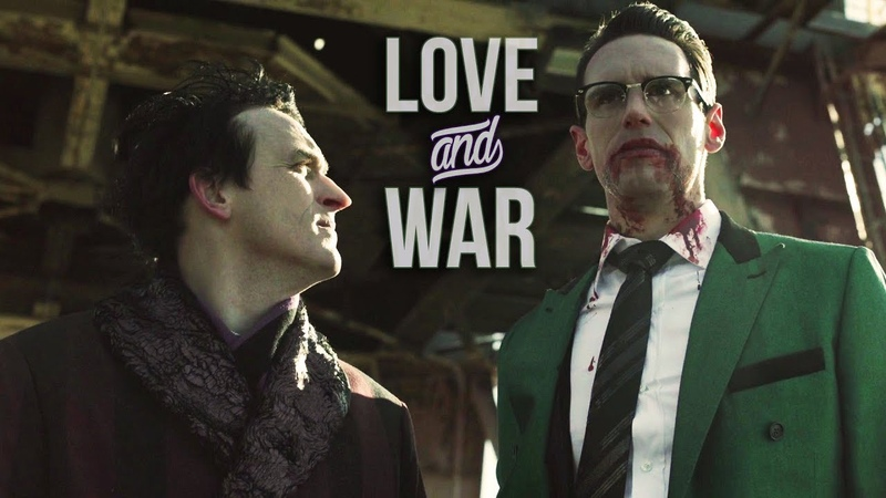 Gotham || Love and War || Edward Nygma Oswald Cobblepot