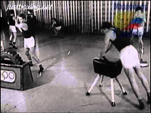 Метод круговой тренировки в боксе