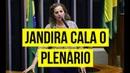 EM DISCURSO JANDIRA SOBE O TOM FALA DA CRUELDADE DA REFORMA E A LUTA DEMOCRÁTICA
