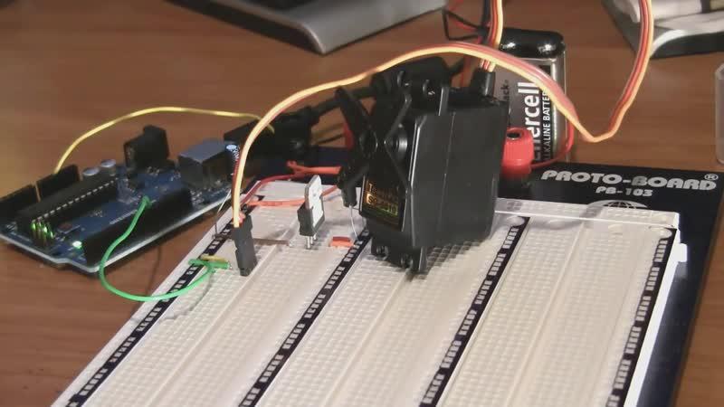 Видеоуроки по Arduino. Моторы и транзисторы (5-я серия, ч2)