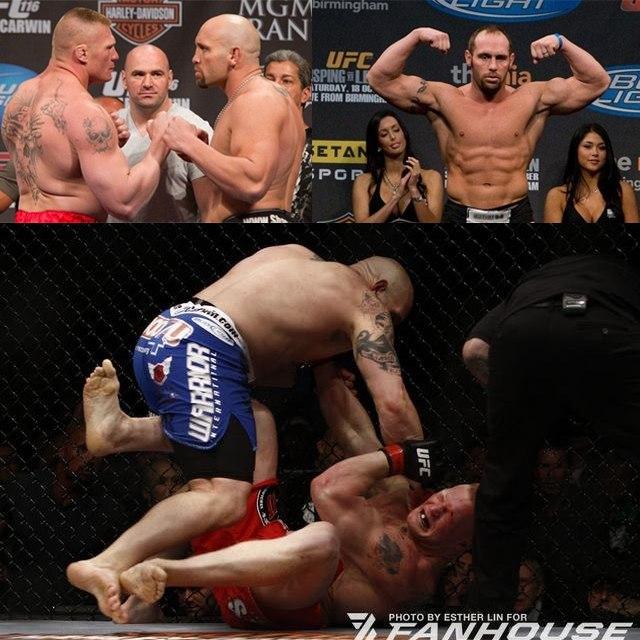Шейн Карвин готов вернуться в UFC ради реванша с Броком Леснаром