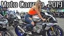 MOTOCARRERO 2019! - AMAZING Superbikes in Brazil, Loud exhausts BURNOUTS!