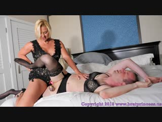 Goddess brianna - mother trains son to become daughter with chastity and pegging