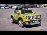Детский электромобиль Jeep M 2766 BR-10, хаки - fiksiki.com.ua