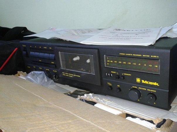 Магнитофон маяк 260С