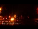 Момент дтп сегодня ночью Пучковка