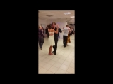Танец именинниц Дарьи Слюсаревой и Елены Манаковой