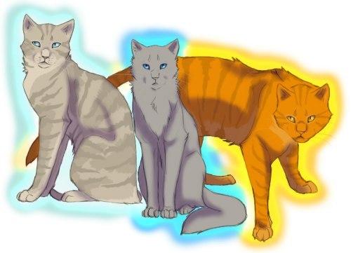 Коты воители сила трех