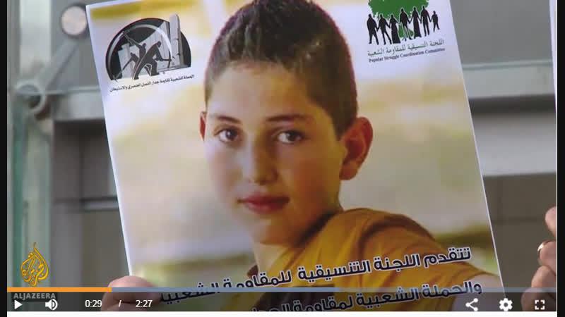 Israel releases Palestinian boy jailed for plotting attack Israel News Al Jazeera
