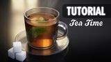Blender Tutorial. A cup of tea.