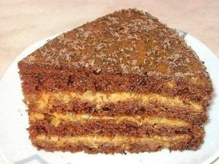 армянский торт улыбка негра рецепт с фото