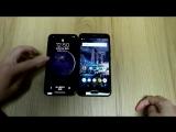 Экран сравнил iphoneX VS vkworldK1