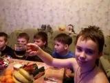 Школьники на вечеринке